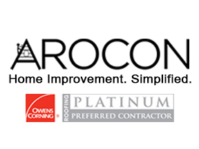 Arocon Home Improvement. Simplified. Logo